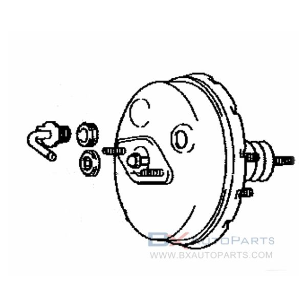Power Brake Booster Toyota Booster Products