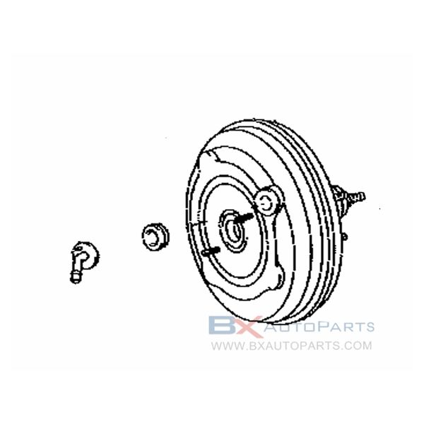 44610-33750 Brake Booster For Toyota CAMRY 2006/01 - 2009/01 ACV40