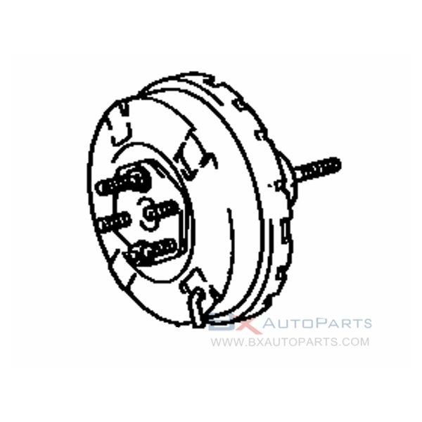 44610-37020 Brake Booster For Toyota DYNA/TOYOACE QUICK 1992/01 - 1992/02 BU60  アリ(フロント デイスクブレ-キ)