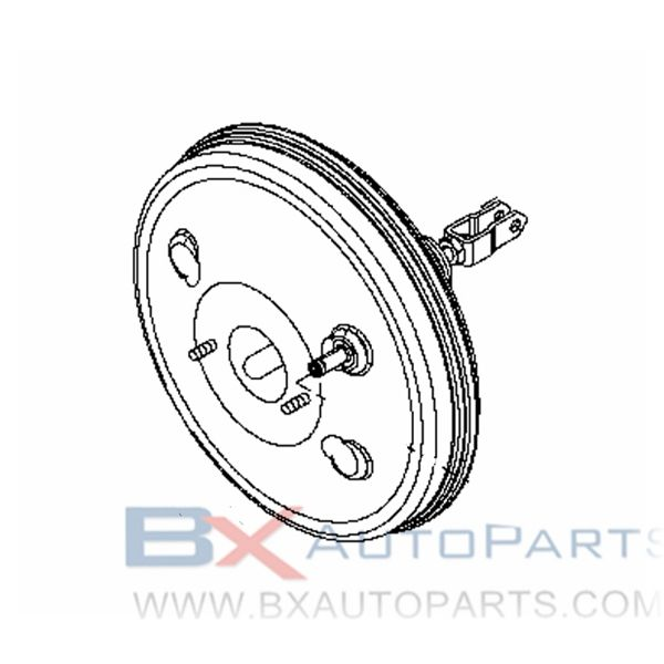 47210-EW00A Brake Booster For Nissan AD/AD EXPERT 2006/12 - 2013/05 CR12DE