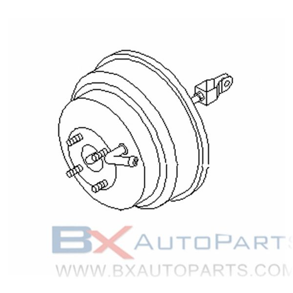 47210-VE402 Brake Booster For Nissan AMBULANCE 1998/10 - 1999/08 VG33E