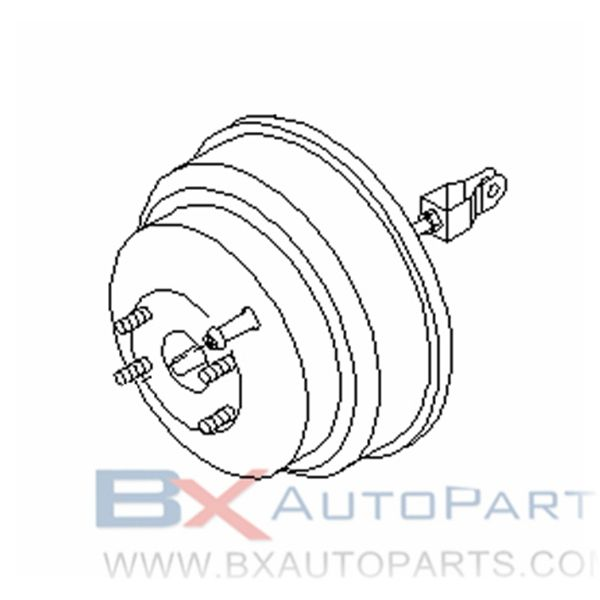 47210-AD000 Brake Booster For Nissan BASSARA 1999/11 - 2001/01 KA24DE JKC