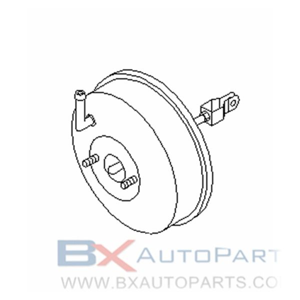 47210-64J23 Brake Booster For Nissan BLUEBIRD 1996/08 - 1997/09 2WD.SR18DE