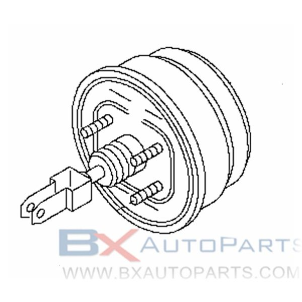 47210-VW200 Brake Booster For Nissan CARAVAN 2001/04 - 2001/10 (SLB+BUS).KA24DE +KA20DE