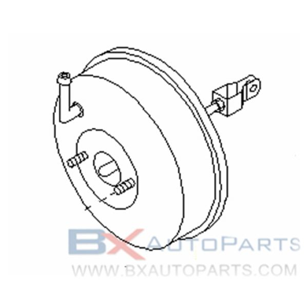 47210-73L01 Brake Booster For Nissan CEFIRO 1988/09 - 1990/08 *RB20E +*RB20D +*RB20DT 4WAS