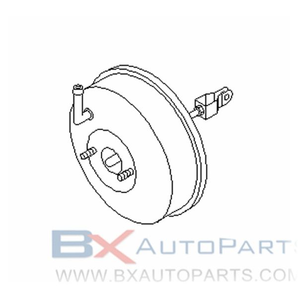 47210-2S401 Brake Booster For Nissan DATSUN 1997/01 - 1999/06 *NA20S ABS シヨウ