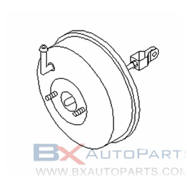 47210-65Y00 Brake Booster For Nissan PULSAR 1990/08 - 1992/08 4S.2WD.GA15DS.(M1+K1) +3HB.2WD.GA15DS +GA15DS.J1J.(MT+AT) +5HB.GA15DS +GA13DS トキコ ゲンブツ カクニン