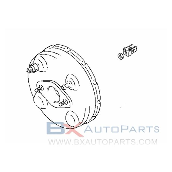 47210-4A00A Brake Booster For Nissan ROOX 2009/12 -K6A +K6AT