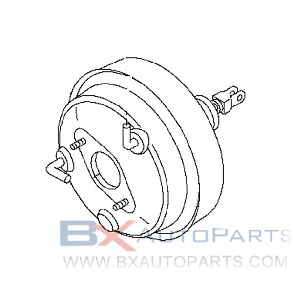 D7210-EY00C Brake Booster For Nissan SKYLINE CUPE 2008/07 - 2008/12 2WD/STD.VQ37VHR [B421]