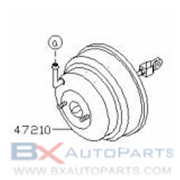 47210 Vs40b 47210 Vc012 47210 Vc013 Brake Booster For Nissan Patrolgr