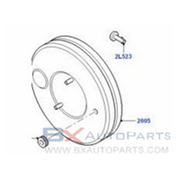 03.7755-2802.4 1121364 Brake Booster For FORD GALAXY